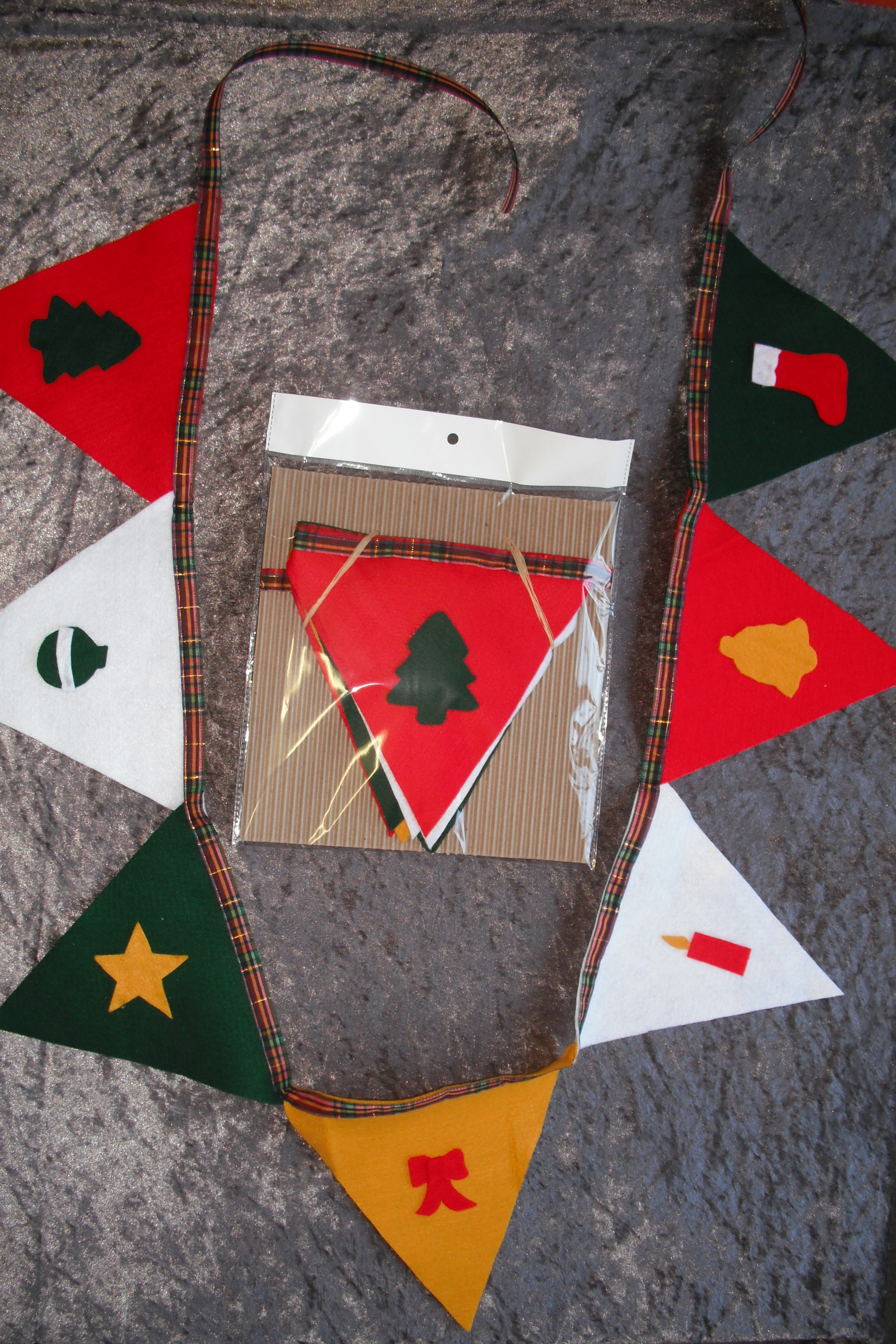 Felt Bunting flags - Christmas Decorations