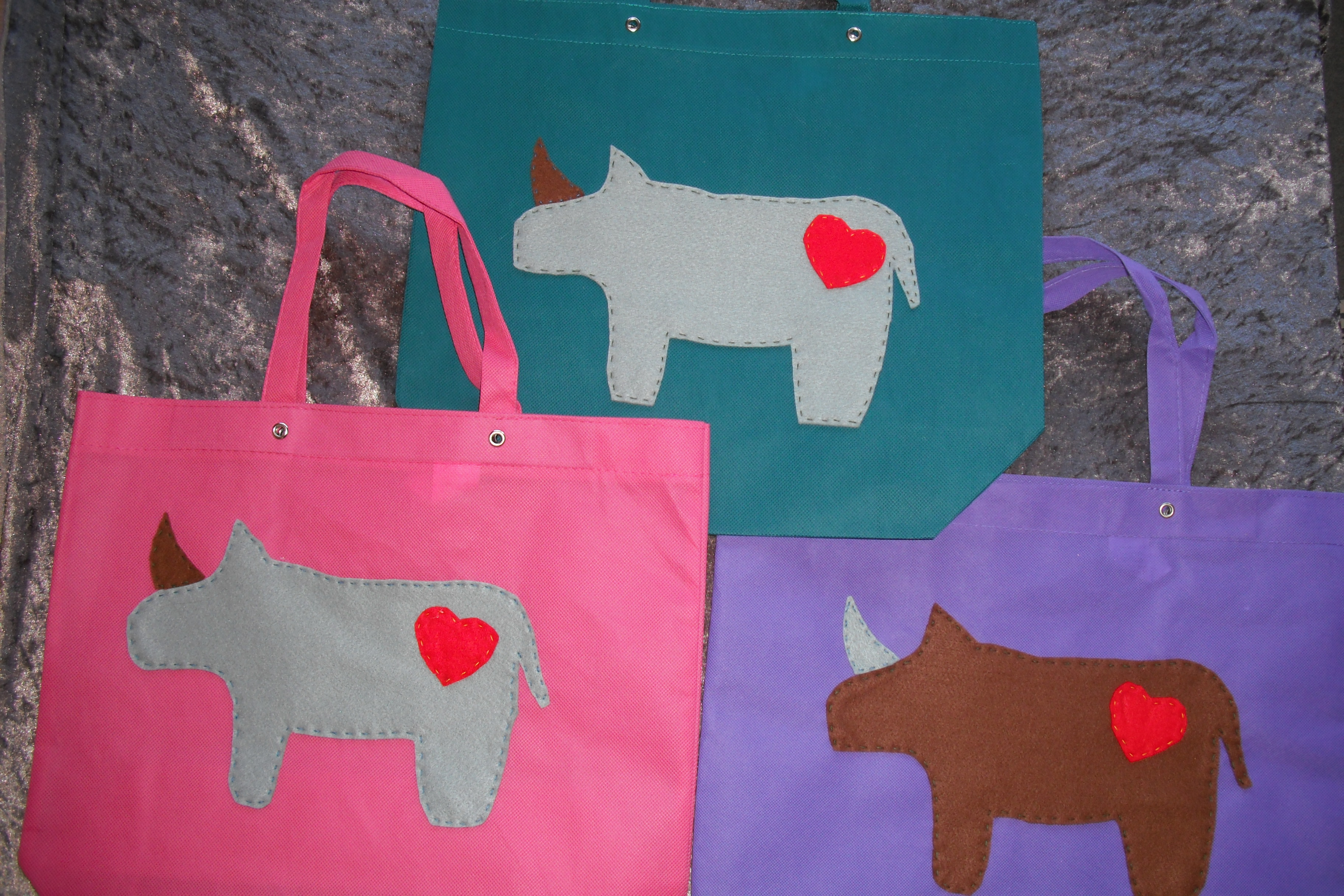 Shopping Bag - Love the Rhino